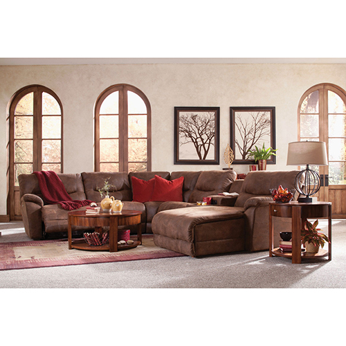 Miraculous Dawson Reclining Sectional Group Home Furniture Co Dailytribune Chair Design For Home Dailytribuneorg
